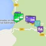Plan interactif de Porto Ota
